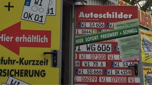 German city bans number plates starting with 'IS'