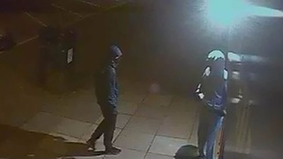 Two men were involved in the robbery