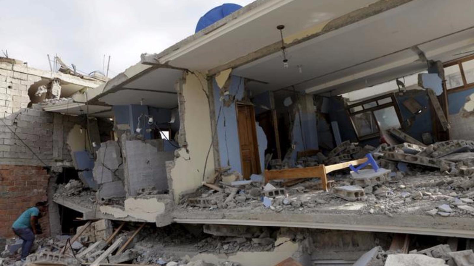 Ecuador earthquake death toll rises to 480