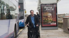 Steve Ledbrook says local transport is failing a generation of disabled people.