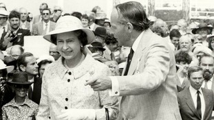 Rare images of the Queen at Glorious Goodwood