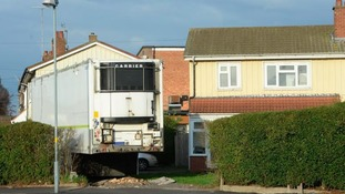 'Eyesore' lorry trailer in garden sparks complaints