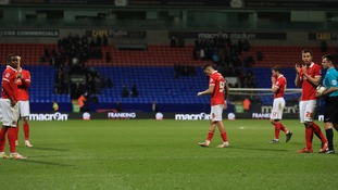 Charlton Athletic relegated from the Championship after 0-0 draw at Bolton Wanderers