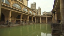 Could the sights beneath the Great Bath of Aquae Sulis be more impressive?