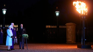 Queen's birthday beacon lighting ceremonies in the east