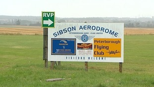 Sibson Aerodrome, near Peterborough, Cambridgeshire.