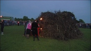 The last beacon lighting was in 2012 for The Queen's Diamond Jubilee