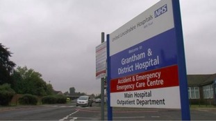 The Hospital says a small electrical fire knocked out the power supply on four wards.