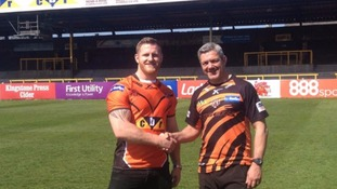 Larne Patrick with Daryl Powell
