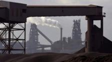 Steelworks on Teesside.