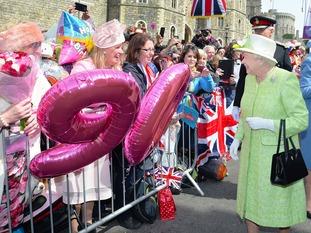 Queen in Windsor.