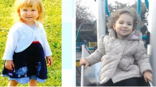 One-year-old Jasmine Weaver and three-year-old Evelyn Lupidi were found with multiple stab wounds