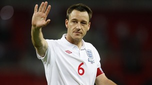 Former England captain John Terry has retired from international football, his management agency have announced