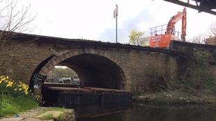 Elland Bridge restoration work starts