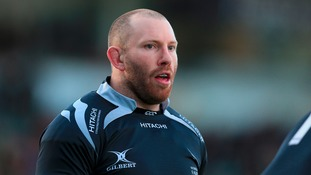 Newcastle Falcons hooker Rob Hawkins who is to retire