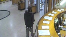 CCTV images taken from Newcastle Crown Court on Nov 14 of missing Michael