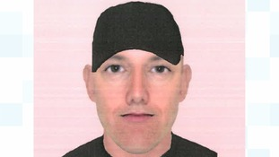 An efit image of one of the burglars