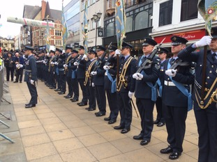 RAF parade