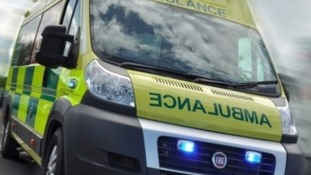 A motorcyclist has died after a collision with a car.