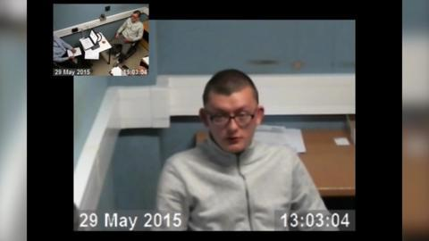 Custody interview with James Fairweather - May 2016