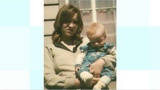 Julie Finch with her son James Attfield