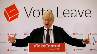 Boris Johnson is an ardent supporter of Brexit.