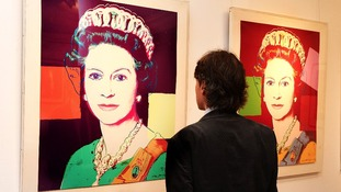 Warhol's Elizabeth II portraits at Windsor