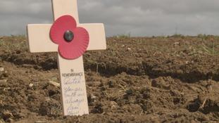 WW2 pilot's niece retraces his final moments