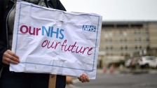 Thousands of junior doctors across England will go on strike for two days next week
