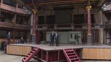 President Obama visited the Globe Theatre