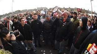 Charlton fans have staged a series of protests this season.
