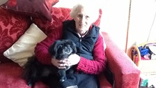 Myrtle saved the life of neighbour Audrey