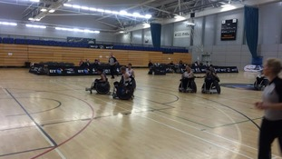 National wheelchair rugby championships take place in Sheffield