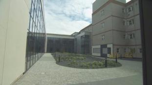 The new West Cumberland Hospital.