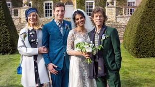 Mick Jagger and Jerry Hall join son's wedding celebrations
