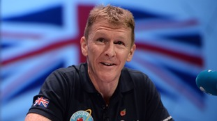 Tim Peake will be running the marathon on a treadmill in the International Space Station