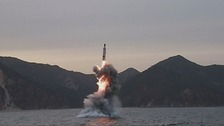 Pyonyang said its missile launch had been a 'great success'