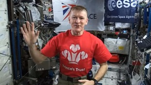 Tim Peake Tweets London Marathon shadow runner.