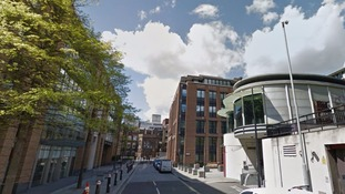 Two men stabbed yards from St Paul's Cathedral.