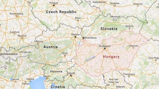 The men were arrested in Hungary