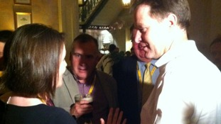 Kirsty Williams AM and Nick Clegg MP