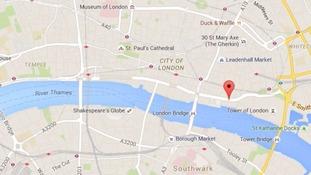 London Marathon runner collapses with cardiac arrest.