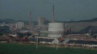 The coke works viewed from Beddau