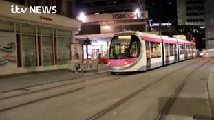 First tram runs on Corporation Street in more than 60 years