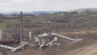 The former Cwm Colliery site