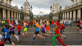 Celebrations as thousands complete London Marathon