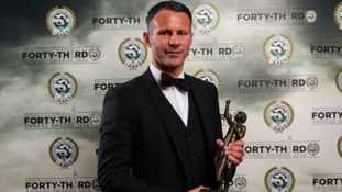 Ryan Giggs wins PFA Merit Award for outsanding services to football