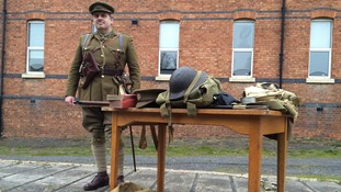From shoe maker to Somme soldier in training