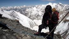 Tim Mosedale leads expeditions up Everest in Nepal.
