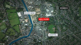 The body was found at a property in Mill Close
